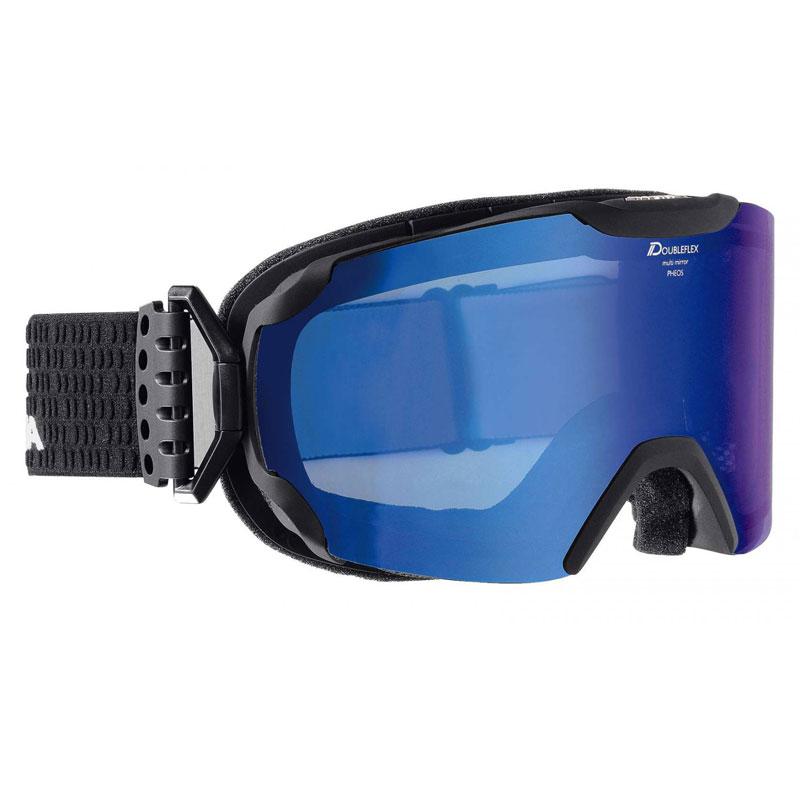 3800edb94 Lyžiarské okuliare ALPINA PHEOS MM A7098.8.32 black matt - Športové ...